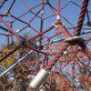 [都市公園] 舟渡水辺公園のカッコイイ公園遊具(東京都板橋区)