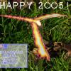 [年賀状] 謹賀新年 2005