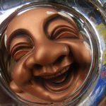 [写真] 灰皿で魚眼写真を撮ってみた