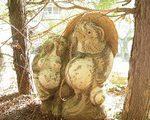 [像・オブジェ] 林泉寺の『しばられ地蔵』(東京都文京区)
