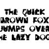 [フォント] 犬をテーマにした雑フォント Dogbet2018